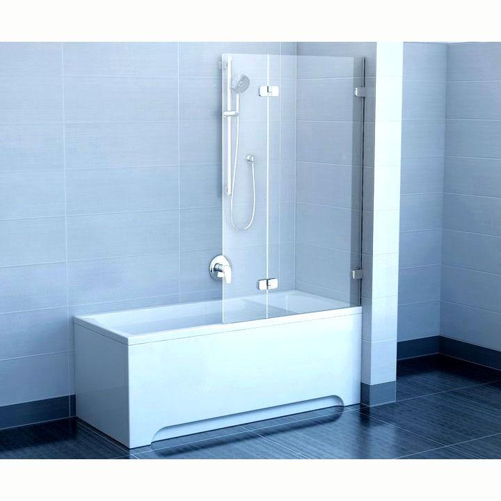 Шторка для ванны Ravak BVS2 100 R прозрачное стекло цена