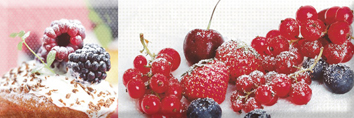 Candy Fruits 04 Decor Декор 10x30 декор keramika modus allure damasco сrema b 20x50