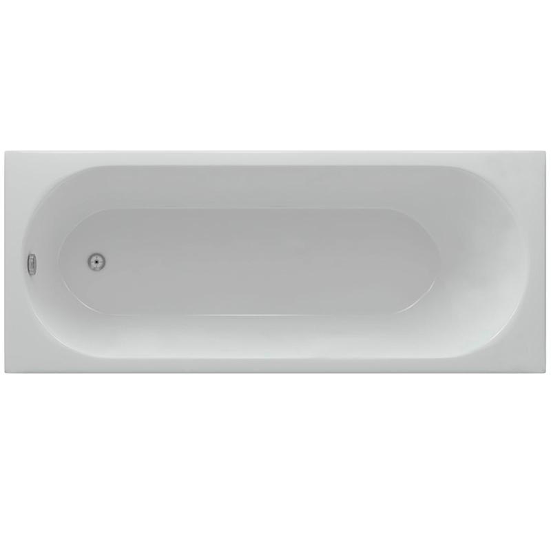 Акриловая ванна Акватек Оберон 170x70 без гидромассажа акриловая ванна акватек юпитер