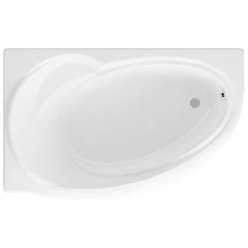 Акриловая ванна Акватек Бетта 160x97 без гидромассажа