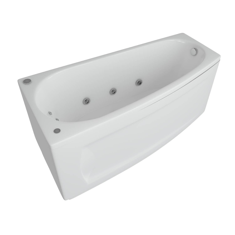 Акриловая ванна Акватек Пандора 160x75 без гидромассажа акриловая ванна акватек феникс 160x75 без гидромассажа