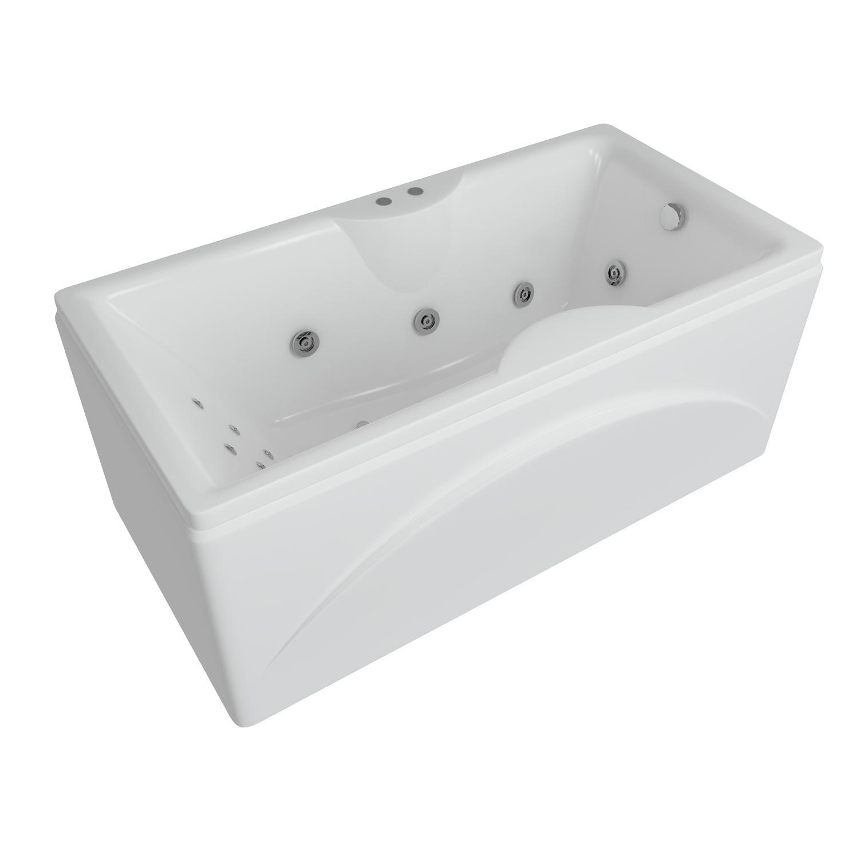 Акриловая ванна Акватек Феникс 150x75 без гидромассажа акриловая ванна акватек феникс 190x90 без гидромассажа