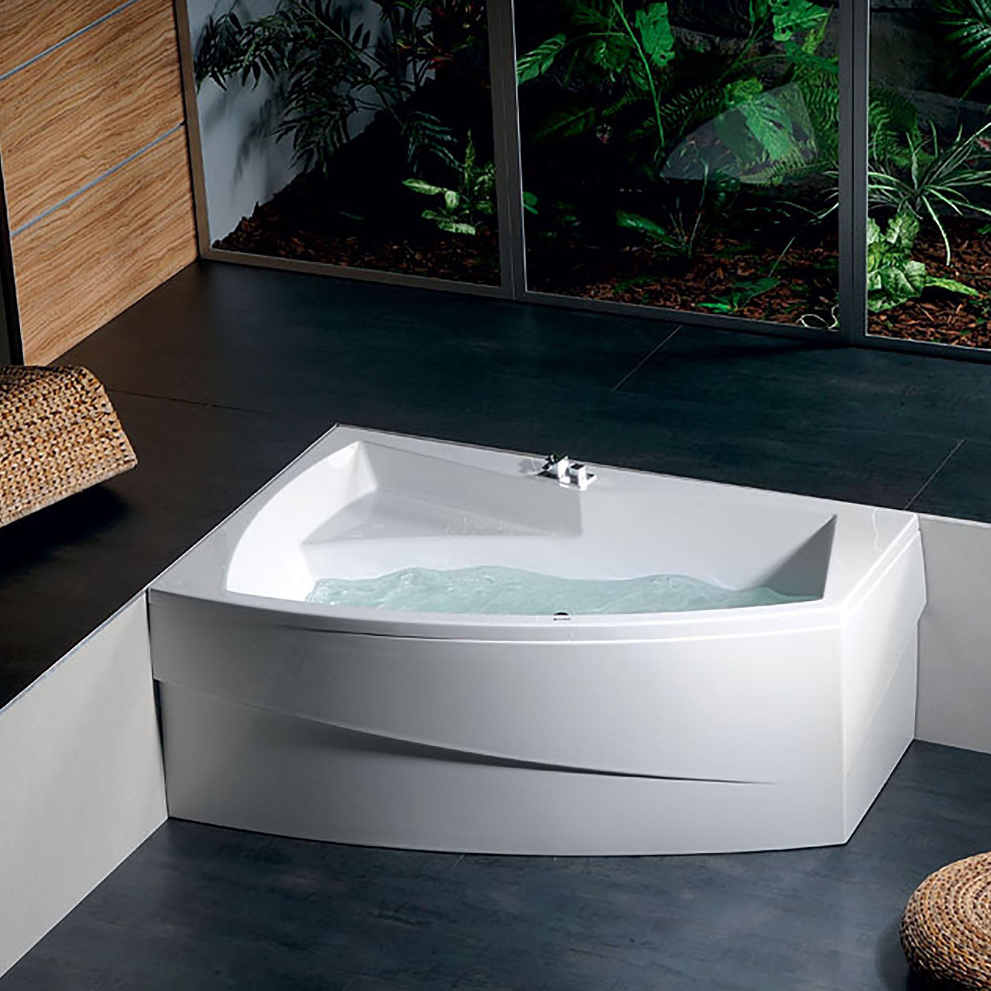 Акриловая ванна Alpen Evia 170x100 L акриловая ванна alpen mamba 160 l