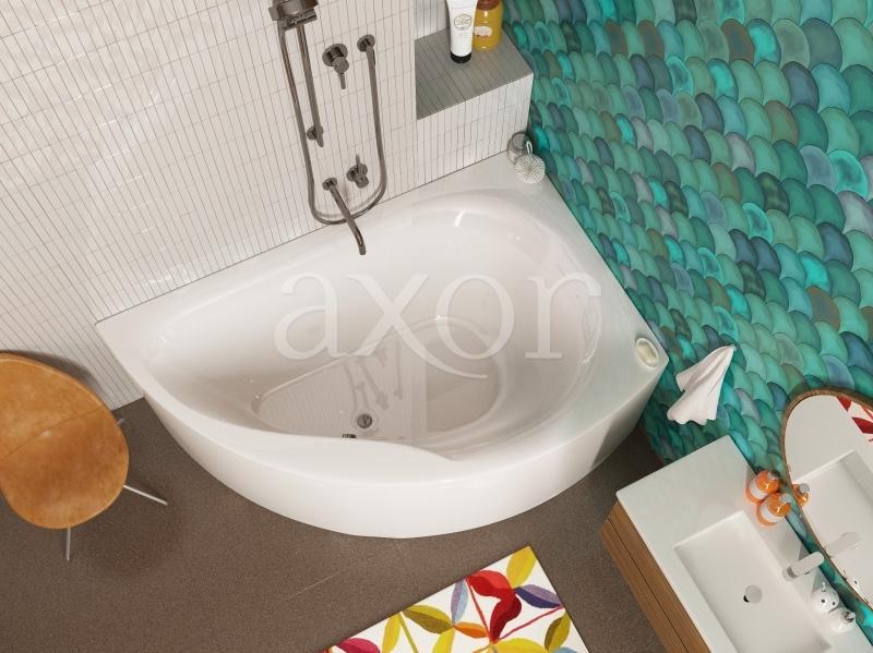Акриловая ванна Alpen Dallas 160x105 правая акриловая ванна alpen dallas 160 r правая комплект