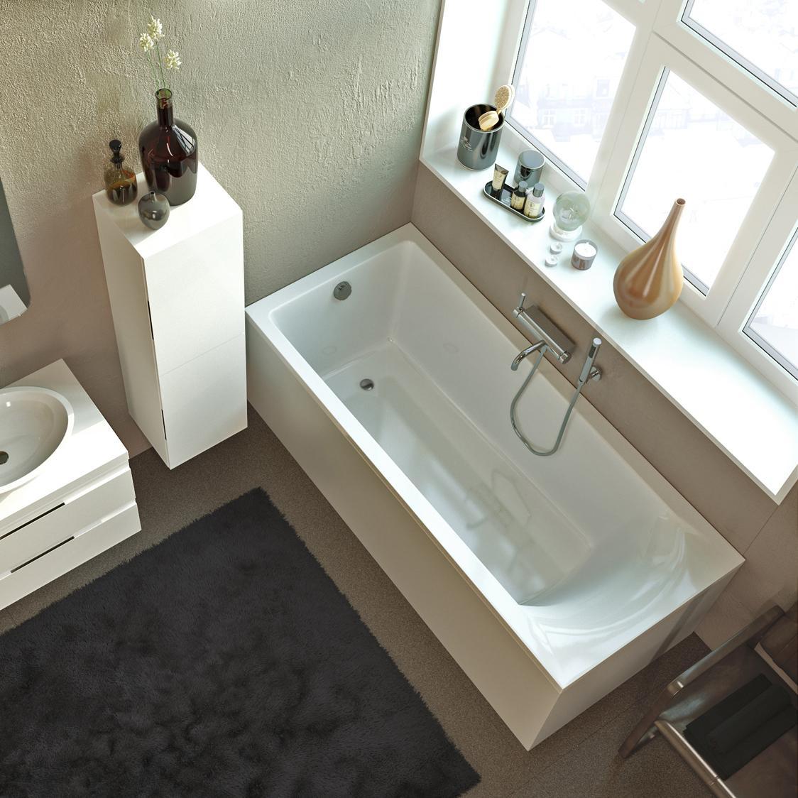 Акриловая ванна Alpen Venera 170x75 без гидромассажа акриловая ванна alpen fontana 170x75 комплект