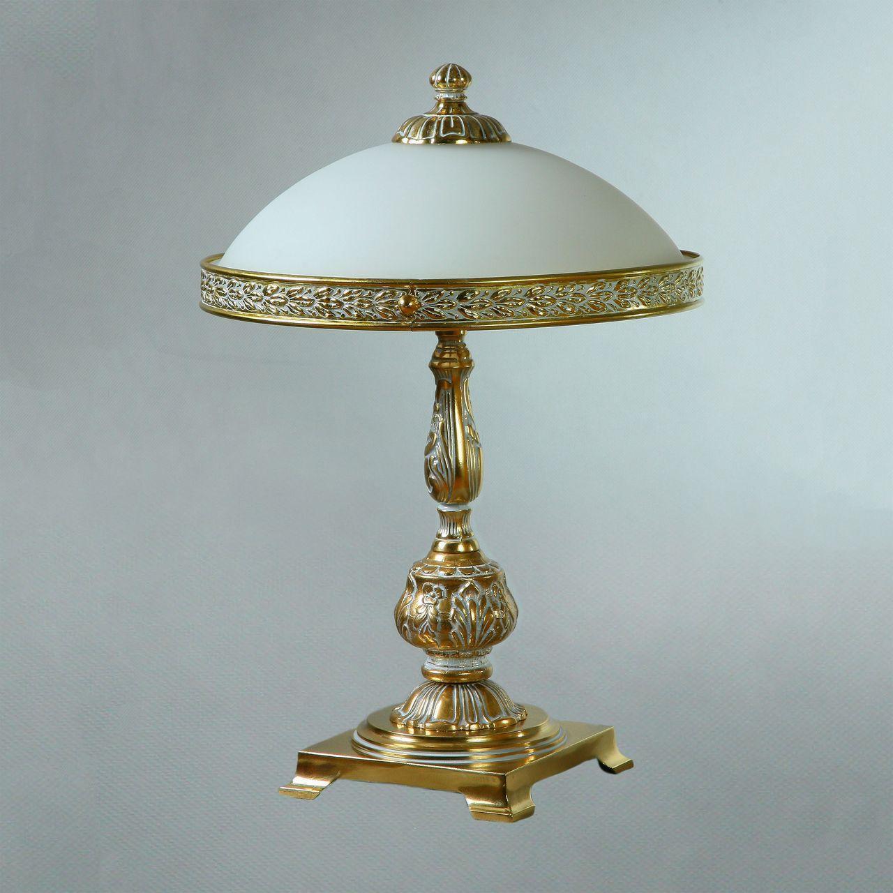 Настольная лампа Ambiente Toledo 02155T/3 WP ambiente cветильник на штанге ambiente navarra 02228 35 pl wp