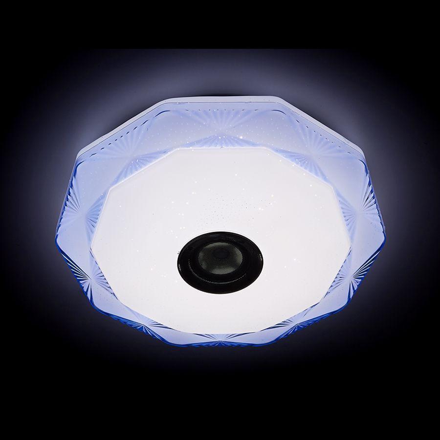 Потолочный светодиодный светильник Ambrella light Orbital Dance F772 BL 72W D510 ambrella потолочный светодиодный светильник ambrella orbital air f18 wh 72w d510
