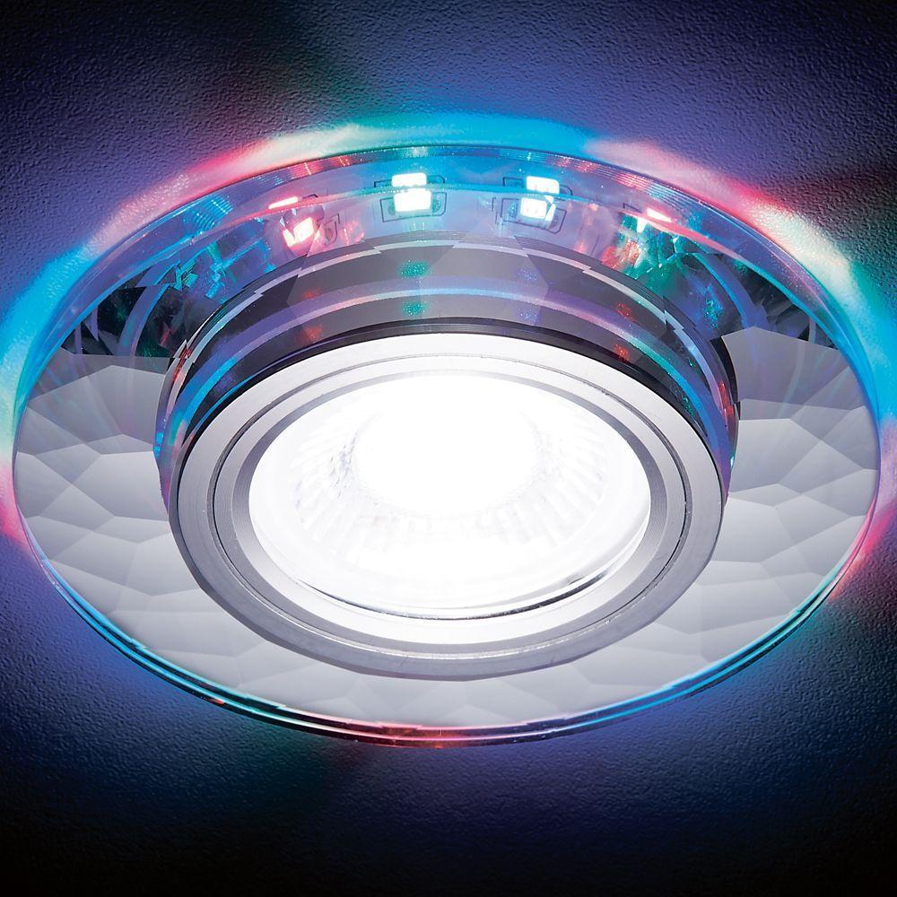 Встраиваемый светодиодный светильник Ambrella light Led S211 CH/RG suny 3 lens 24 patterns dj show rg laser blue led stage lighting light green red