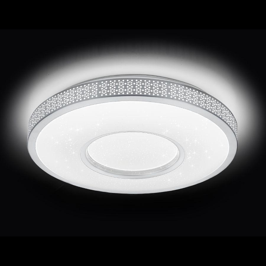 Потолочный светодиодный светильник Ambrella light Orbital Design F81 72W D400 ambrella потолочный светильник ambrella orbital air f11 wh 72w d400