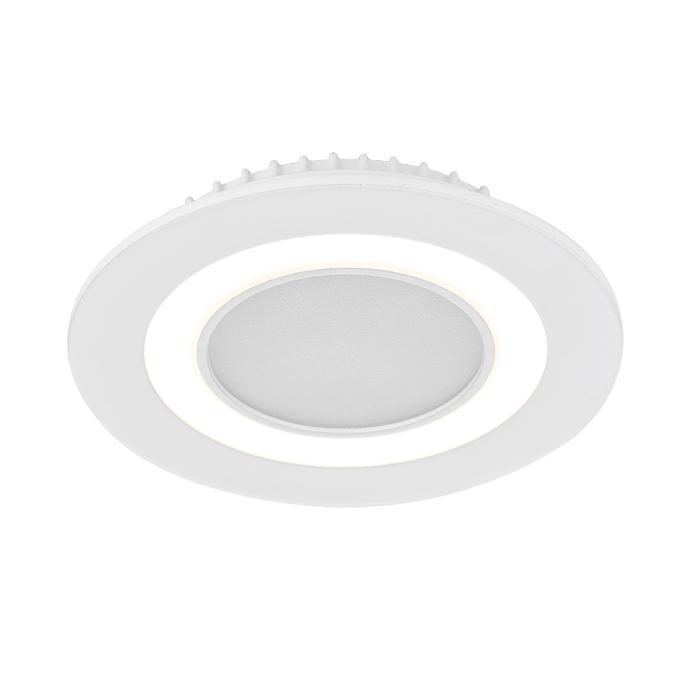 Встраиваемый светодиодный светильник Ambrella light Led Downlight S340/8+4 l806 solar 8 led light black