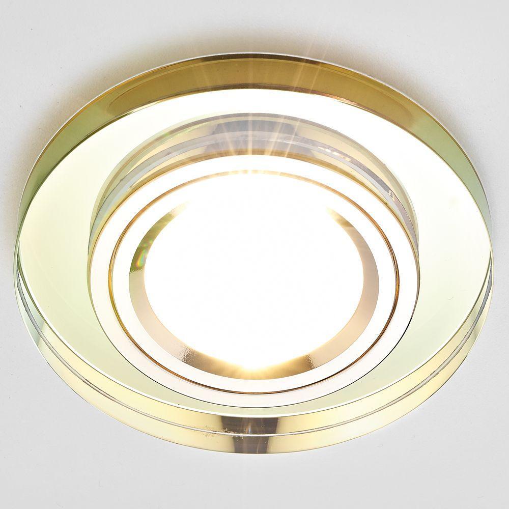 Встраиваемый светильник Ambrella light Classic 8060 Gold remax phone flash light led fill light for smartphones gold