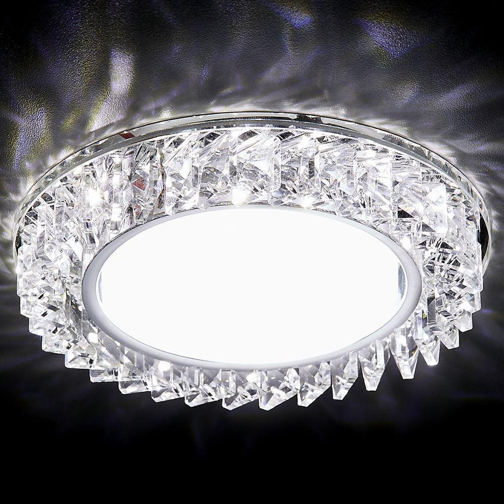 Встраиваемый светильник Ambrella light GX53 LED G255 CH pro svet light mini par led 312 ir