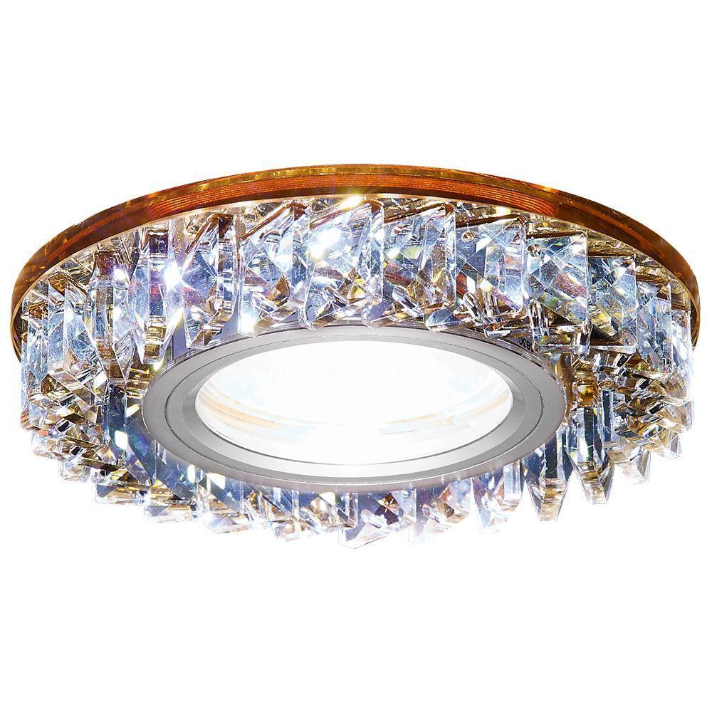 Встраиваемый светодиодный светильник Ambrella light Led S255 BR pro svet light mini par led 312 ir