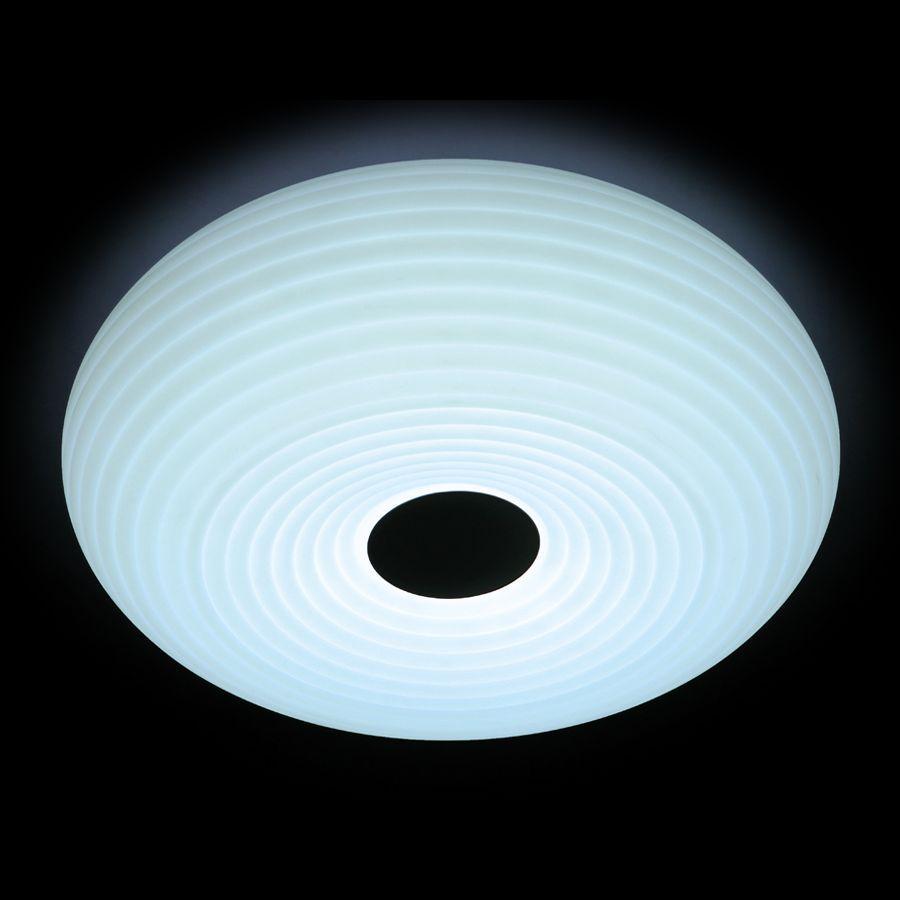 Потолочный светодиодный светильник Ambrella light Orbital Cloud FC348 WH 96W D550 ambrella потолочный светильник ambrella orbital air f11 wh 72w d400