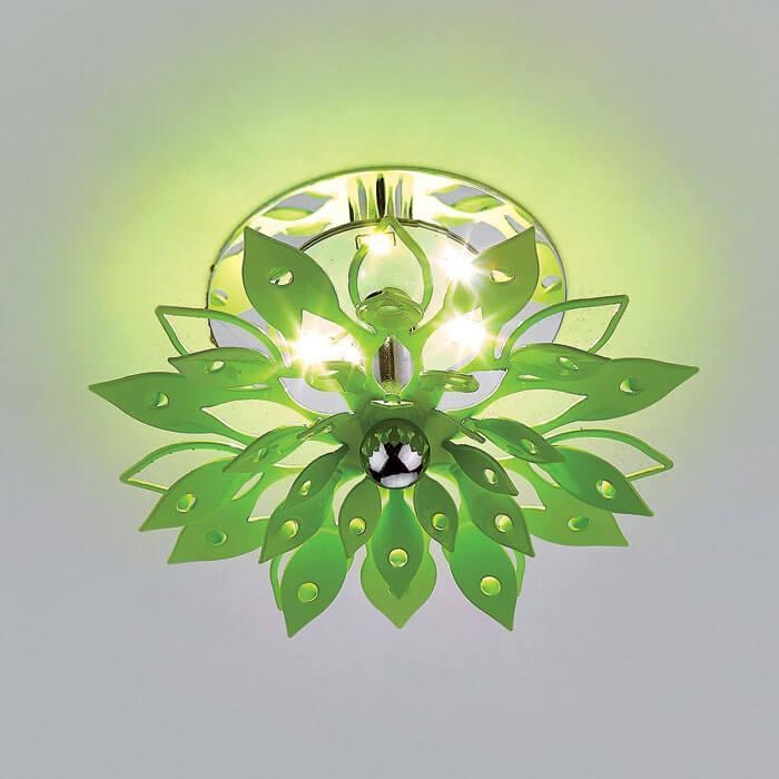 Встраиваемый светодиодный светильник Ambrella light LED S100 GR 3W 4200 high bright led flashlight bulb energy saving 3w 3v 4 12v p13 5s white light bulbs for tourch flashlight camping light