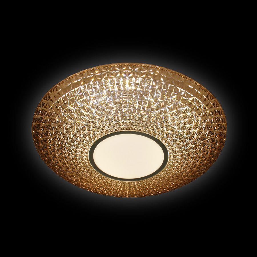 Потолочный светодиодный светильник Ambrella light Orbital Crystal F101 CF 48W D400 ambrella потолочный светодиодный светильник ambrella orbital crystal f85 cf 48w d400