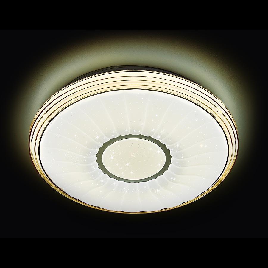 Потолочный светодиодный светильник Ambrella light Orbital Air F11 CF 72W D400 ambrella потолочный светодиодный светильник ambrella orbital air f11 wh 72w d400