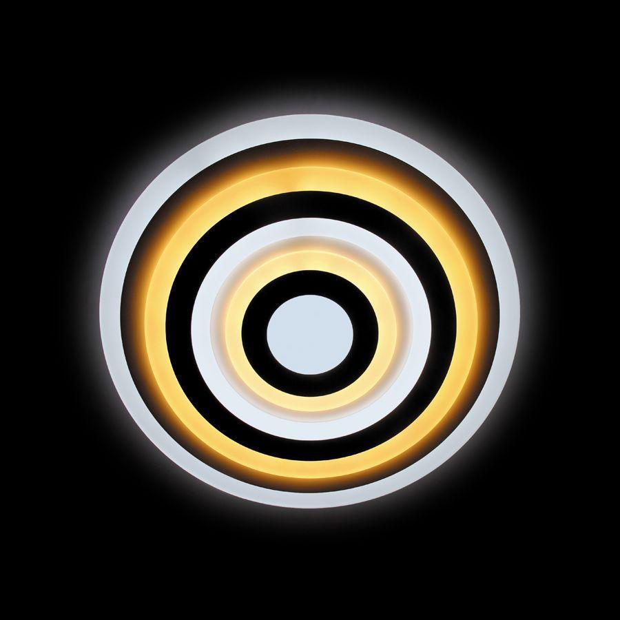 Потолочный светодиодный светильник Ambrella light Orbital Acrylic FA92 WH 144W D500 ambrella потолочный светильник ambrella orbital air f11 wh 72w d400