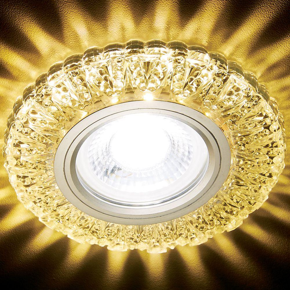 Встраиваемый светодиодный светильник Ambrella light Led S310 CH/W