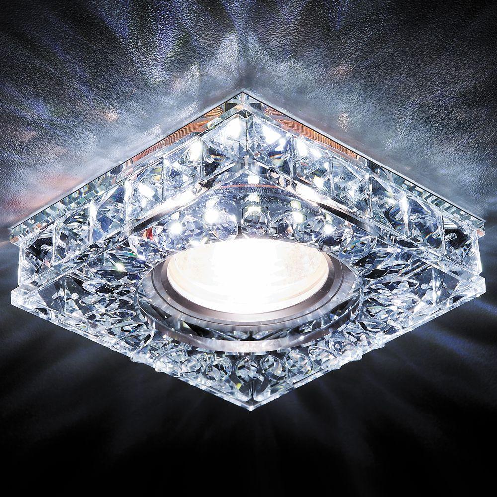 Встраиваемый светодиодный светильник Ambrella light Led S251 CH pro svet light mini par led 312 ir