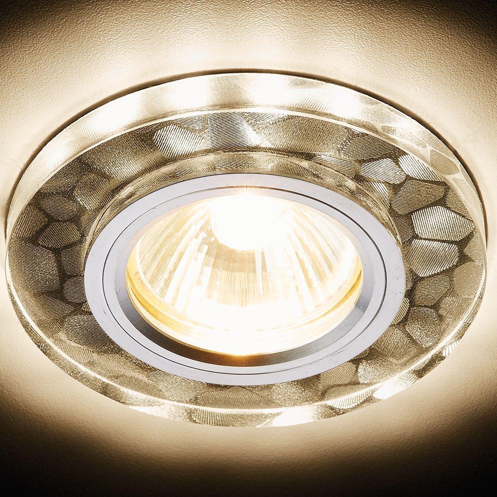 Встраиваемый светодиодный светильник Ambrella light Led S222 W/CH/WA pro svet light mini par led 312 ir