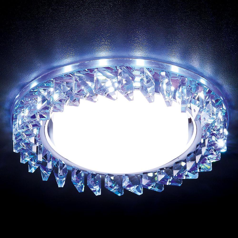 Встраиваемый светильник Ambrella light GX53 LED G255 PR/WH pro svet light mini par led 312 ir