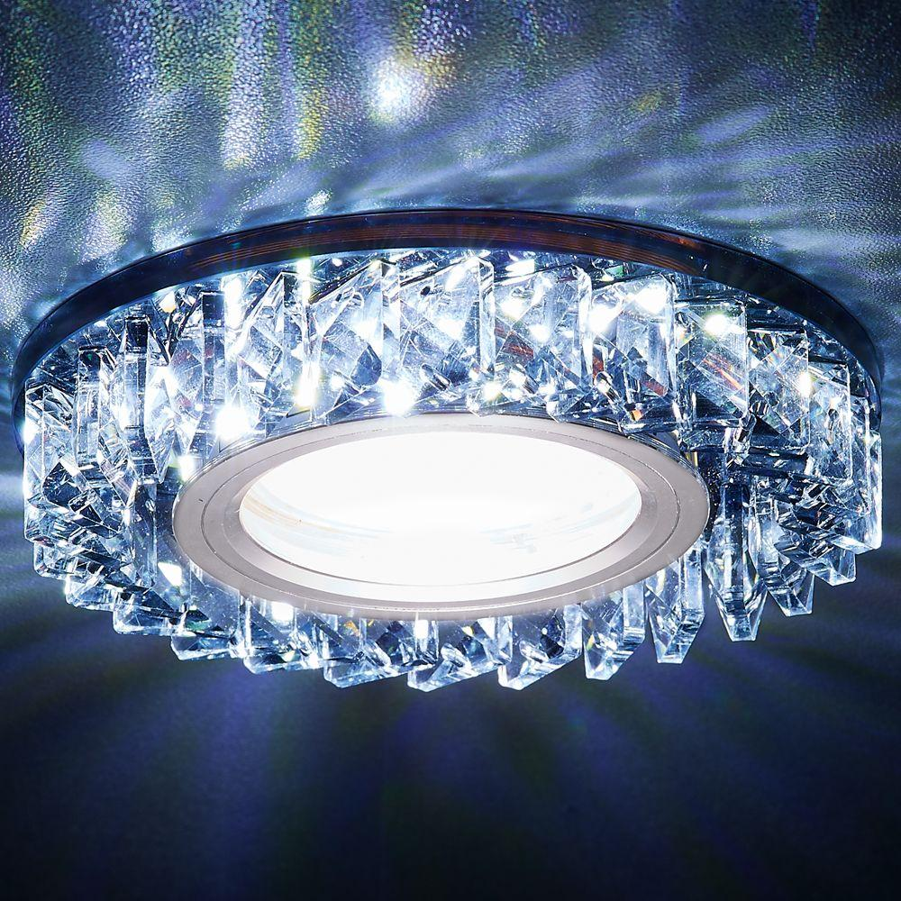 Встраиваемый светодиодный светильник Ambrella light Led S255 BK pro svet light mini par led 312 ir