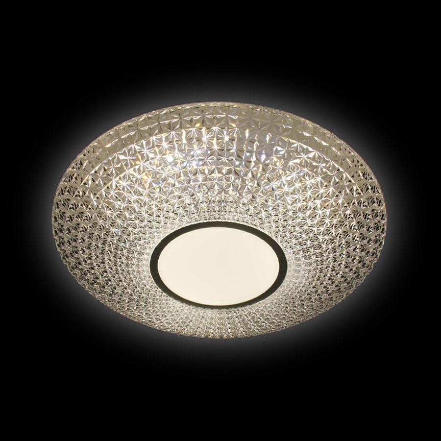 Потолочный светодиодный светильник Ambrella light Orbital Crystal F101 CL 48W D400 ambrella потолочный светодиодный светильник ambrella orbital crystal f85 cf 48w d400