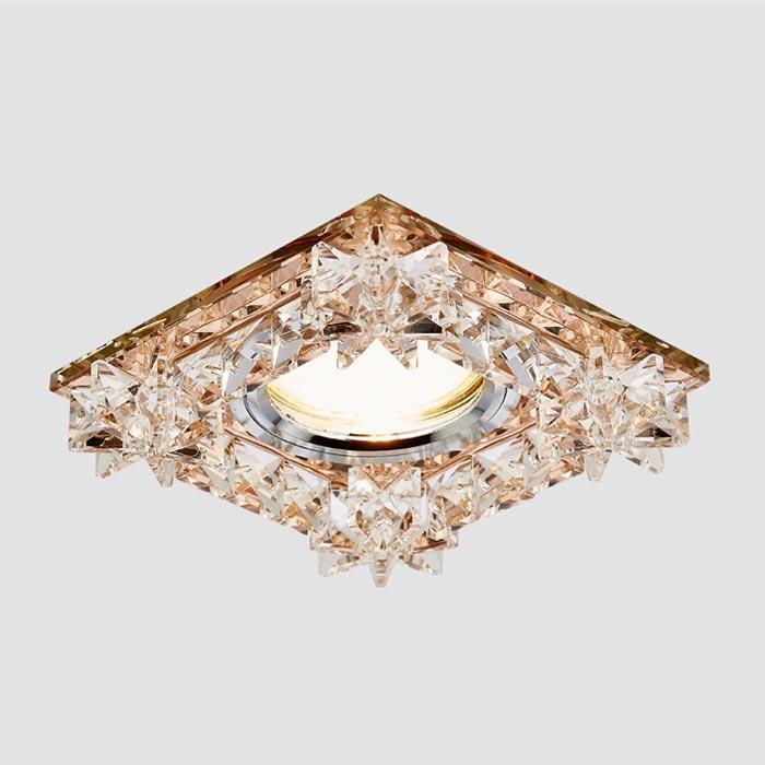 Встраиваемый светильник Ambrella light Crystal K130 BR new item crystal pendant lights modern lustre lamps black dinning room coffee shop light ac110v 220v