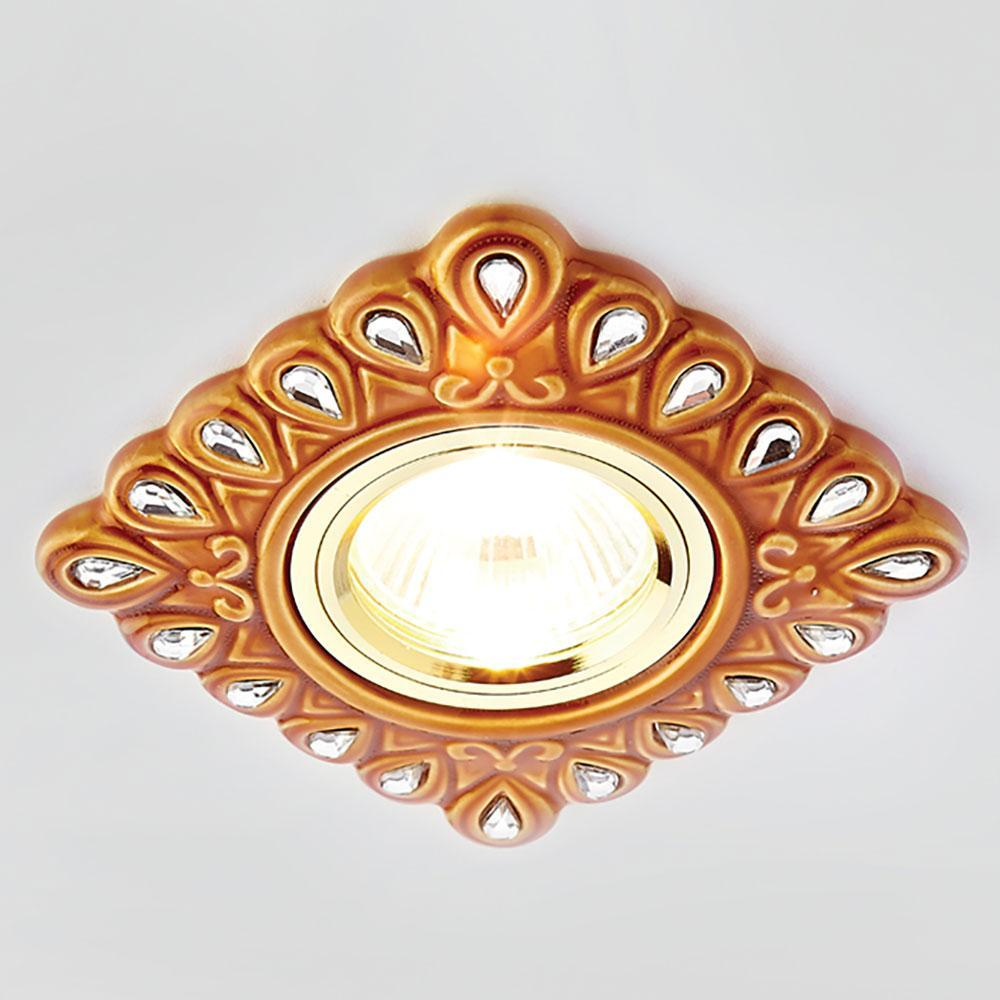 Встраиваемый светодиодный светильник Ambrella light Desing 5W D5550 SB/CL
