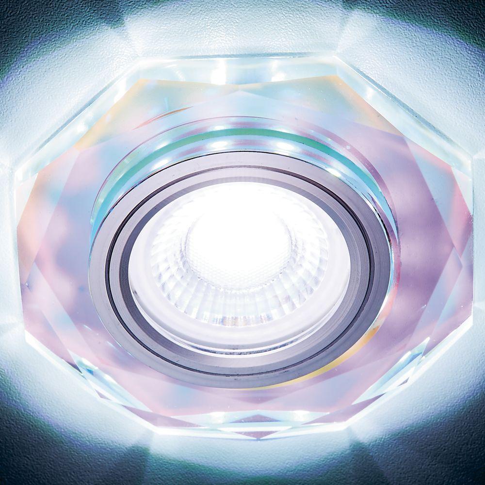 Встраиваемый светодиодный светильник Ambrella light Led S213 PR pro svet light mini par led 312 ir