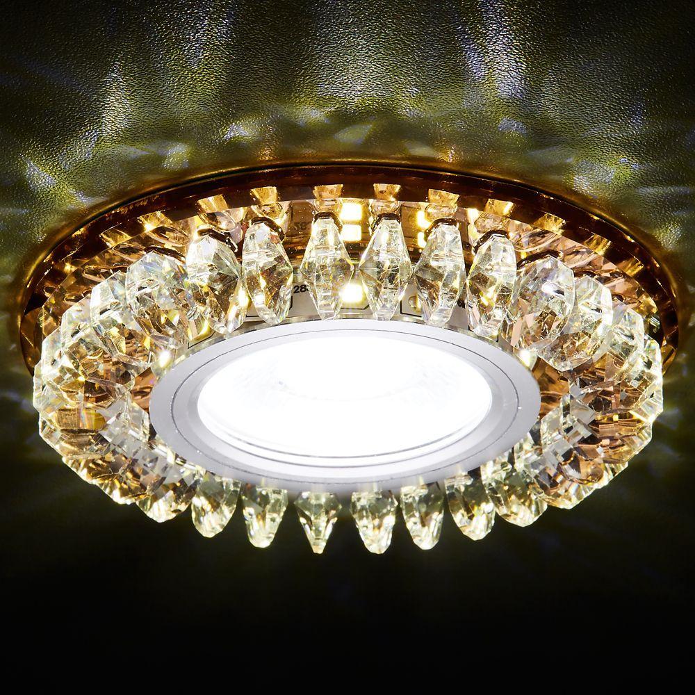 Встраиваемый светодиодный светильник Ambrella light Led S220 BR