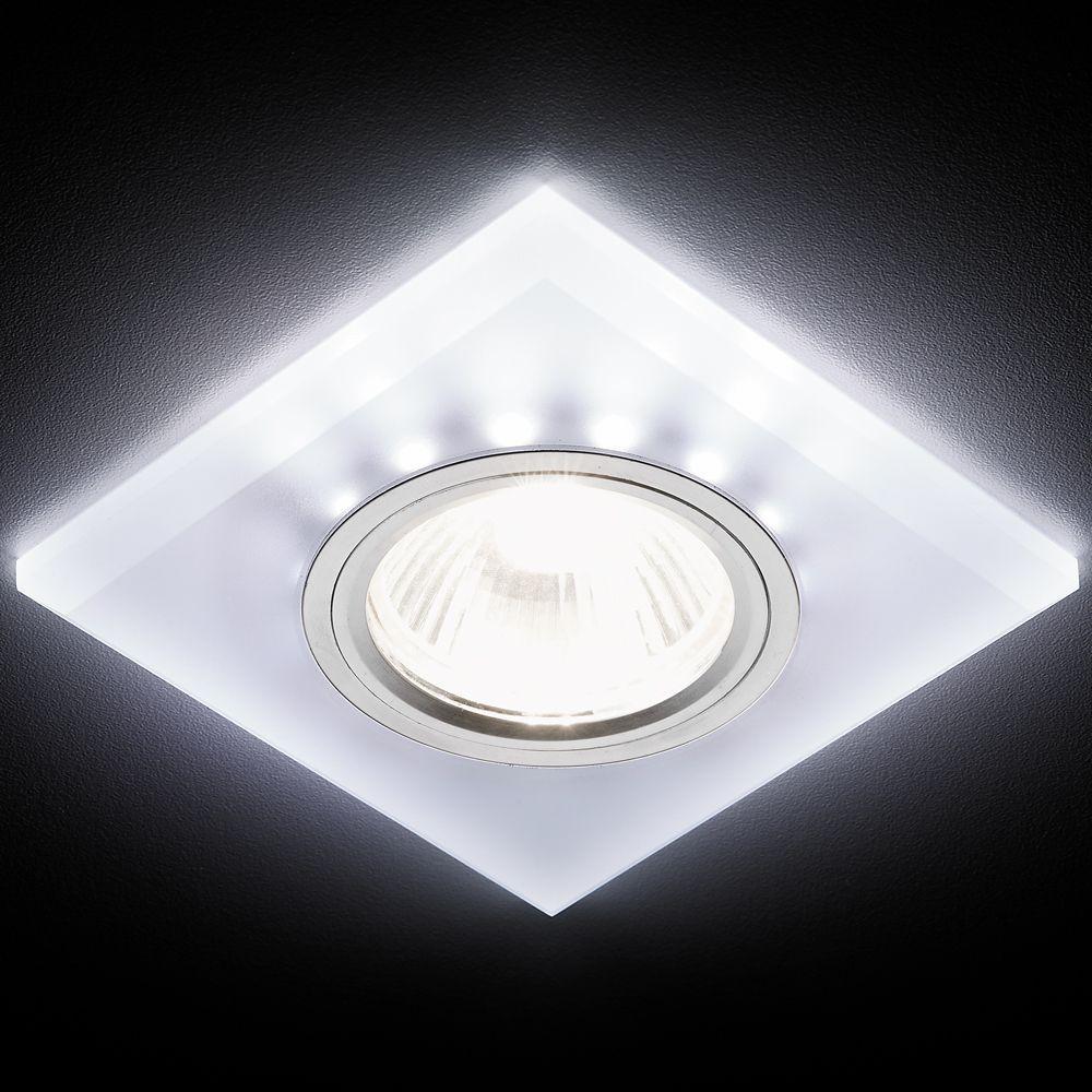 Встраиваемый светодиодный светильник Ambrella light Led S215 W/CH/WH