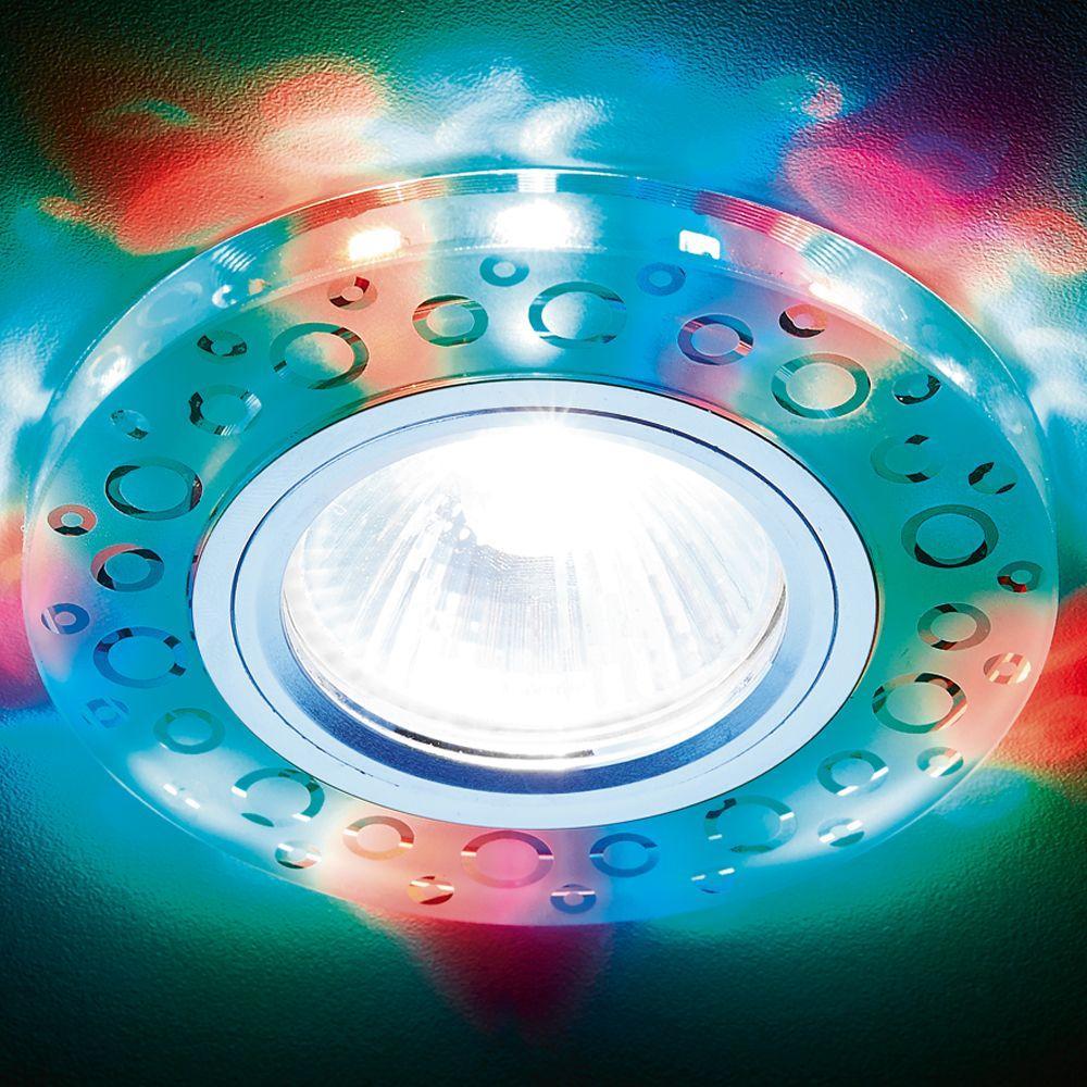 Встраиваемый светодиодный светильник Ambrella light Led S218 WH/CH/M pro svet light mini par led 312 ir