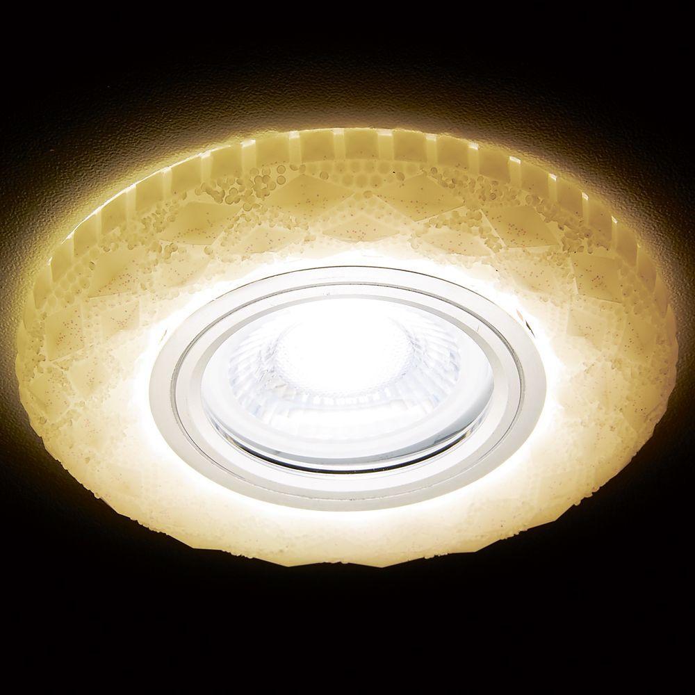 Встраиваемый светодиодный светильник Ambrella light LED S288 W