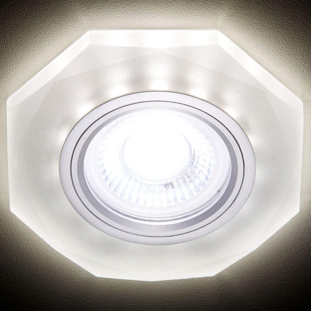 Встраиваемый светодиодный светильник Ambrella light Led S213 WH