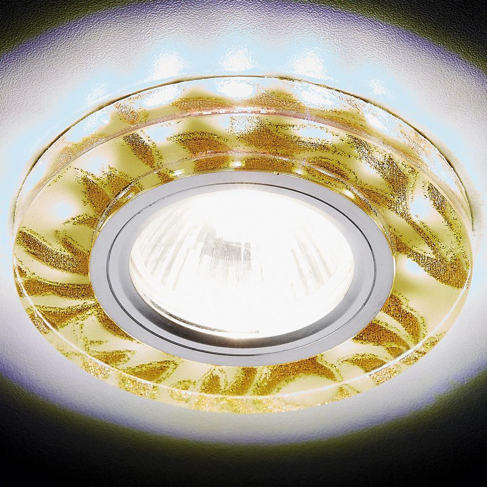 Встраиваемый светодиодный светильник Ambrella light Led S232 W/G