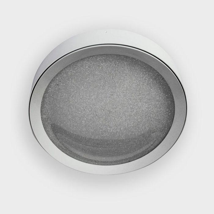 Потолочный светодиодный светильник Ambrella light Orbital Crystal Sand FS1212 WH/WH 64W+23W D500 потолочный светодиодный светильник ambrella light orbital crystal sand fs1216 wh ch 72w 29w d500 500