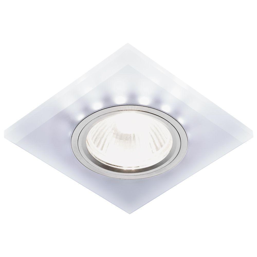 Встраиваемый светодиодный светильник Ambrella light Led S215 W/CH/WH цены