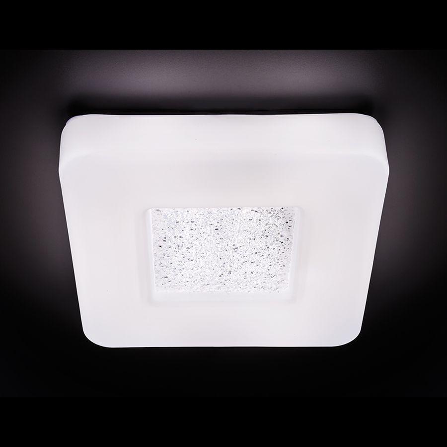 Потолочный светодиодный светильник Ambrella light Orbital Design F204 WH 24W S270