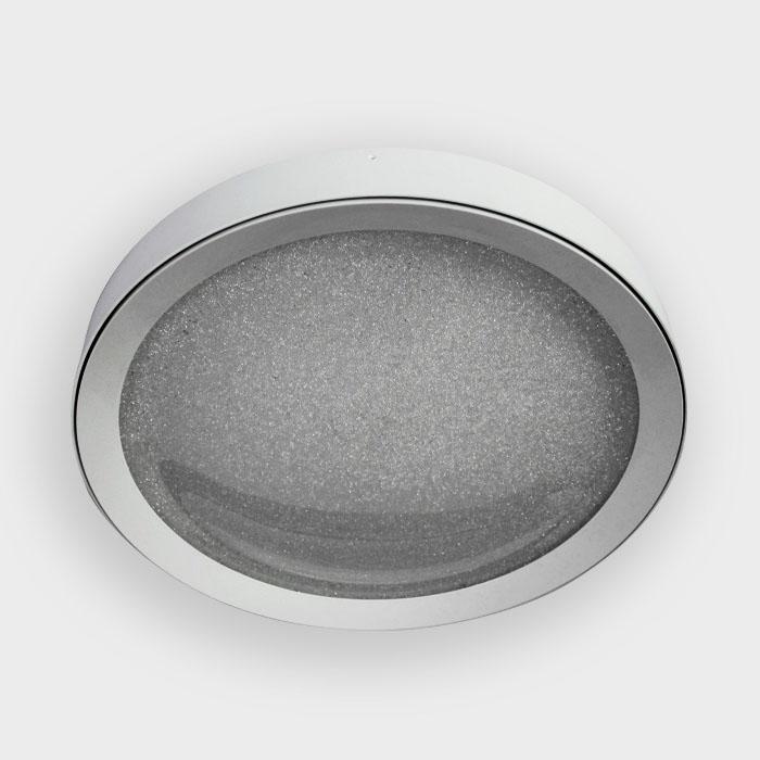 Потолочный светодиодный светильник Ambrella light Orbital Crystal Sand FS1214 WH/WH 96W+31W D650 ambrella потолочный светодиодный светильник ambrella orbital crystal sand fs1540 wh sd 108w d540 540