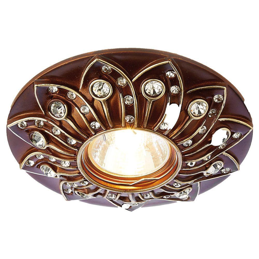 Встраиваемый светильник Ambrella light Desing D4455 BR светильник подвесной n light n light 731 731 01 56ac