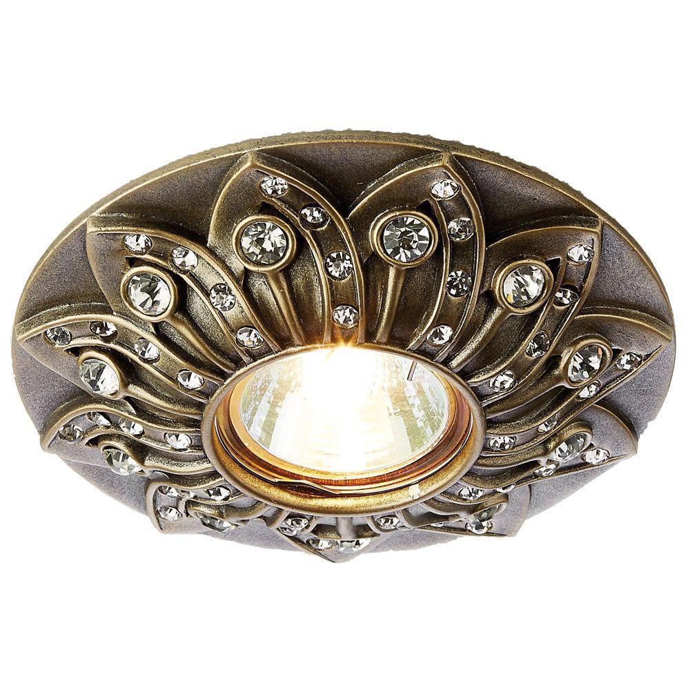 Встраиваемый светильник Ambrella light Desing D4455 SB светильник подвесной n light n light 731 731 01 56ac
