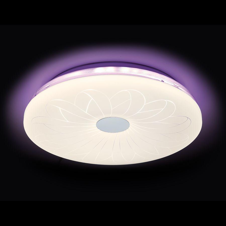 Потолочный светодиодный светильник Ambrella light Orbital Design F78 PU 80W D420 ambrella потолочный светодиодный светильник ambrella orbital design f79 pu 96w d540