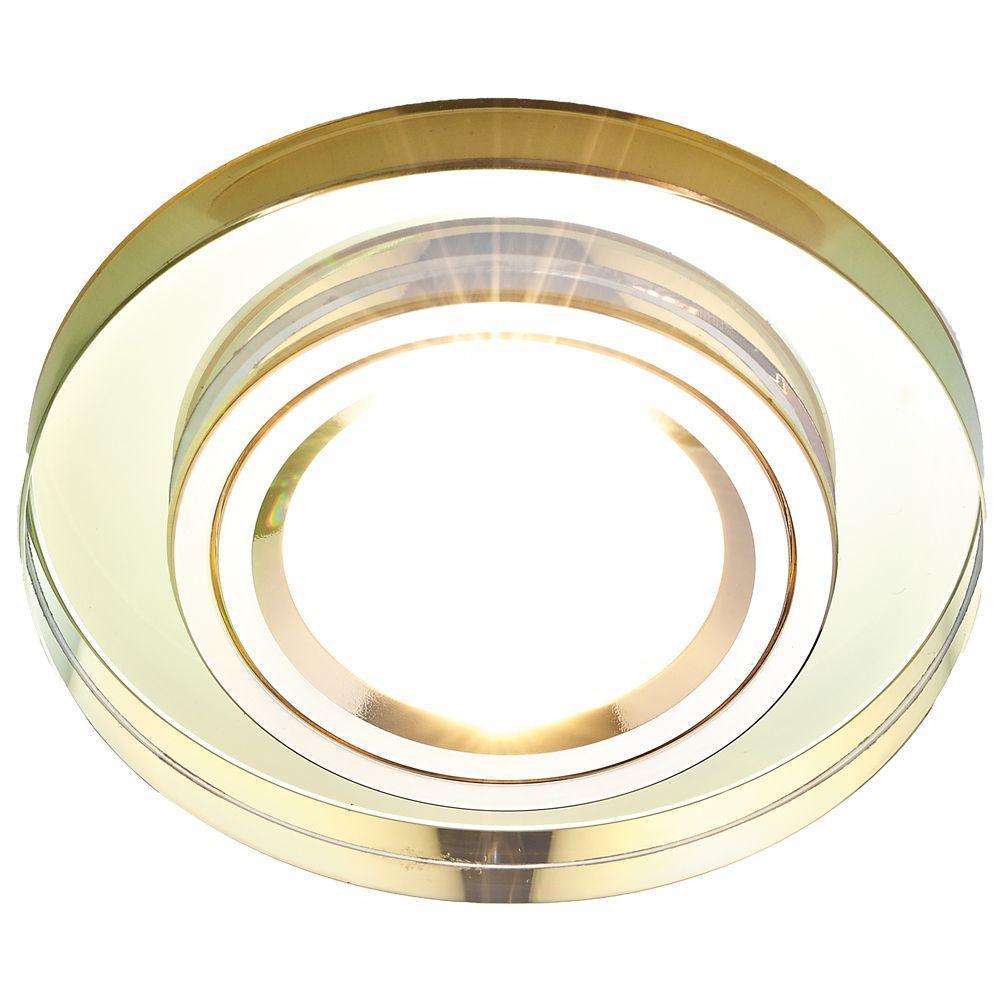 Встраиваемый светильник Ambrella light Classic 8060 Gold ambrella встраиваемый светильник ambrella classic 8060 br