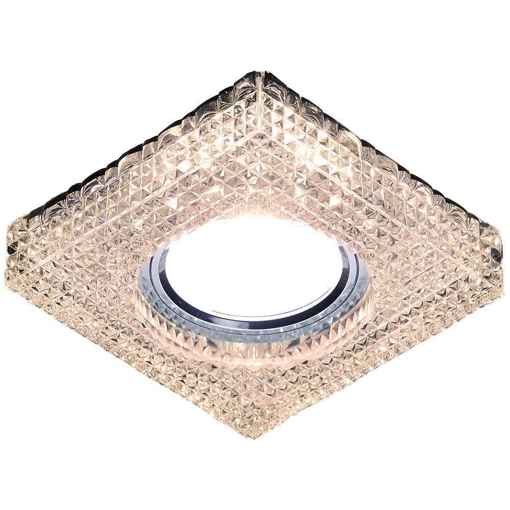 Встраиваемый светодиодный светильник Ambrella light Led S272 CL/WW ambrella встраиваемый светильник ambrella led s272 cl ww