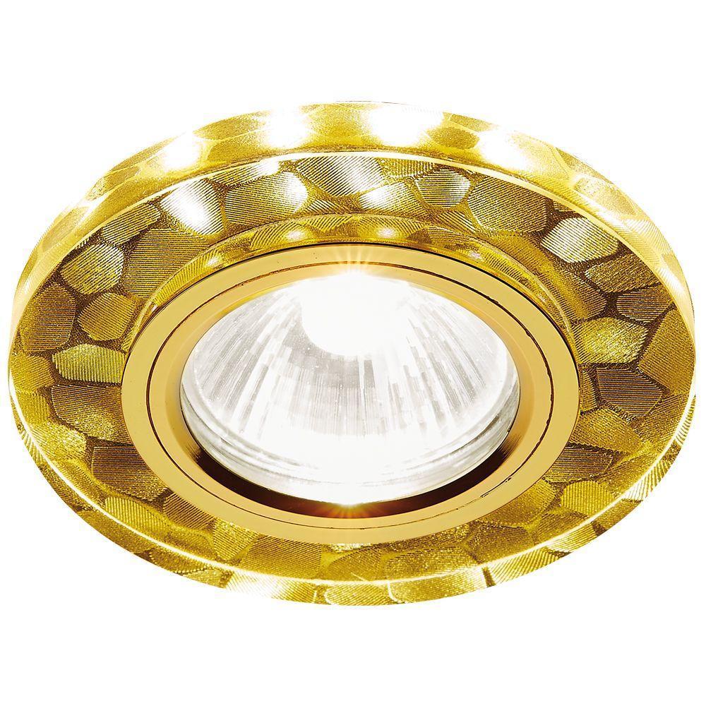 цена на Встраиваемый светодиодный светильник Ambrella light Led S222 WH/G/WA