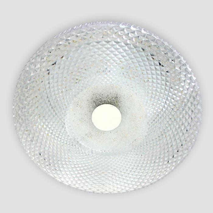 Потолочный светодиодный светильник Ambrella light Orbital Crystal F96 CL 48W D390