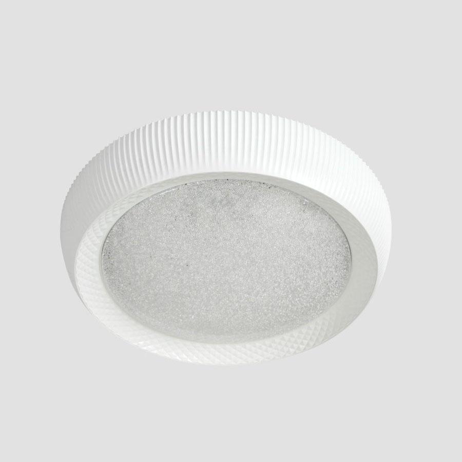Потолочный светодиодный светильник Ambrella light Orbital Crystal Sand FS1240 WH/SD 48W D500 потолочный светодиодный светильник ambrella light orbital crystal sand fs1216 wh ch 72w 29w d500 500