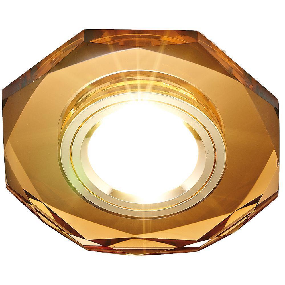 Встраиваемый светильник Ambrella light Classic 8020 BR ambrella встраиваемый светильник ambrella classic 8060 br